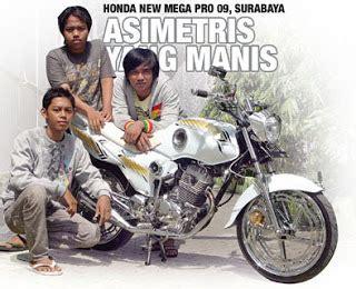 Handel Rem Kanan Tiger Mega Pro modifikasi mobil dan motor honda new mega pro 09