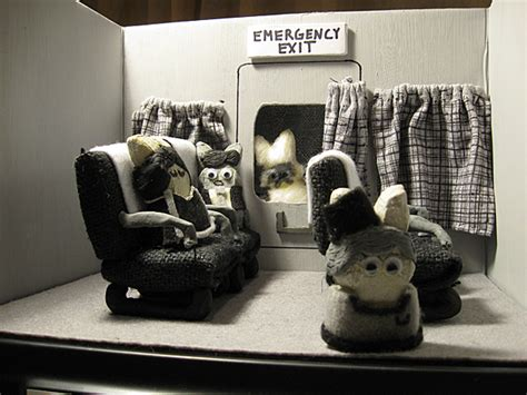 sweet  horrific dioramas   peeps riot daily