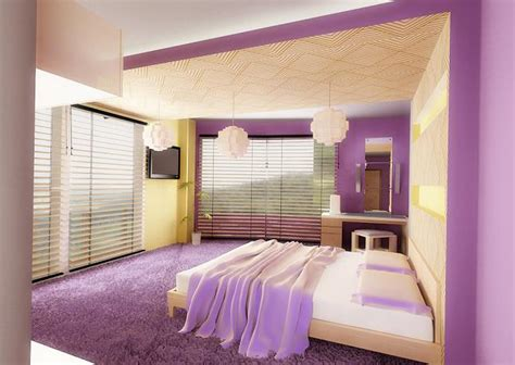 muebles y decoraci 243 n de interiores dormitorios de color lila