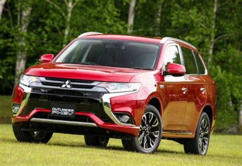 red mitsubishi outlander mitsubishi outlander phev orient red yes please