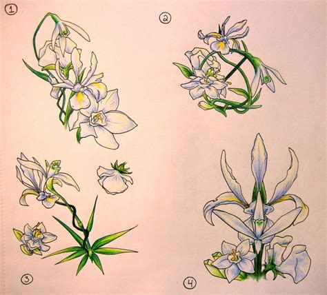 snowdrop tattoo designs 21 best snowdrop and gladiolus design images on