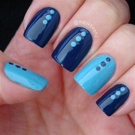 imagenes uñas decoradas azul ideas para decorar las u 241 as de azul mis u 241 as decoradas