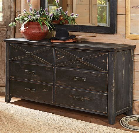 X Dresser by Barnwood X 6 Drawer Dresser