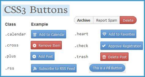 12 modern stylish css3 buttons web graphic design css3 buttons for websites css3 buttons css