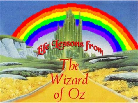 Life Lessons From The Wizard Of Oz Authorstream Wizard Of Oz Powerpoint Template