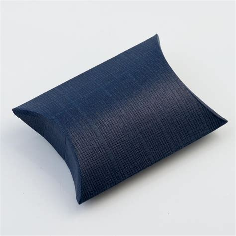 Pillow Boxes Uk by 10 Navy Blue Silk Envelope Boxes Bustina Pillow Boxes At