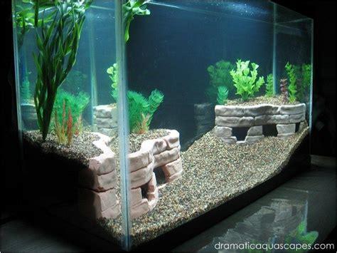aquarium decorations diy  meowlogy