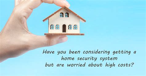 low cost home security systems to keep yourself safe from