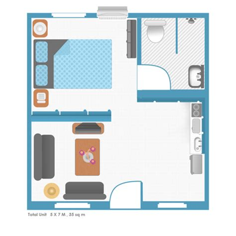 floor plan of a bachelor flat rent apartment in manila apartments for rent in philippines
