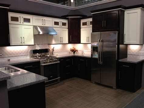 Chocolate Kitchen Cabinets Model 4d Chocolate Maple Recessed Panel Kitchen Cabinets Contemporary Kitchen San