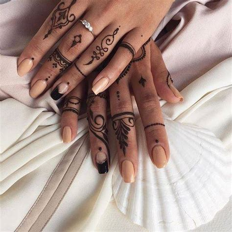henna tattoo fingers 140 finger tattoos ideas design meanings 2018
