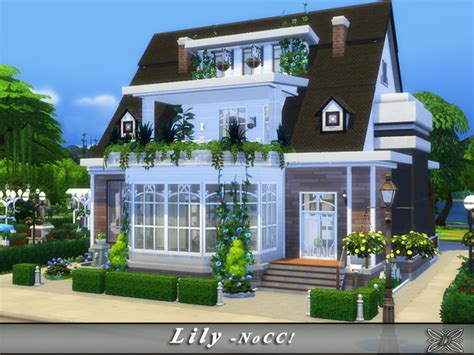 Small Retro House Plans by Sims 4 Residential Lots Downloads 187 Sims 4 Updates