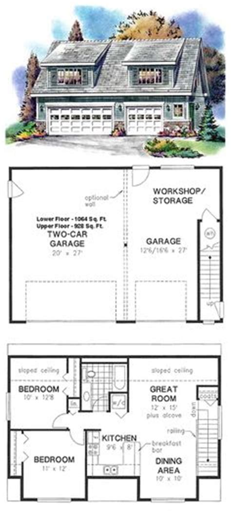 garage with bedroom above plans 1000 images about garage apartment plans on pinterest