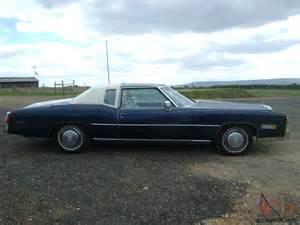 1975 Cadillac El Dorado 1975 Cadillac Eldorado 500 Cubic Inch 8 2 Litre V8 26 000