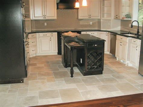 tiled kitchen floor ideas kitchen floors gallery seattle tile contractor irc