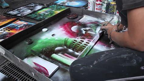 Beautiful Spray Paint Artist In Rome Promo