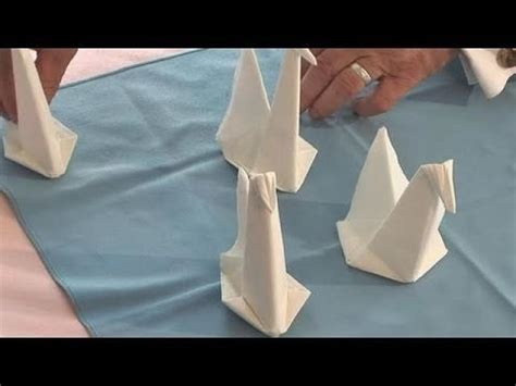 How To Make Napkin Origami - decor 28 creative napkin folding techniques 2495110