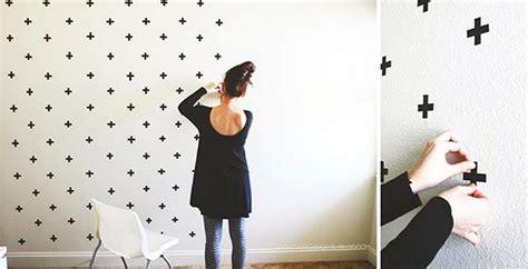 Hiasan Dinding Wallpaper ide dan cara membuat hiasan dinding kamar buatan sendiri dengan wallpaper dinding dekor rumah