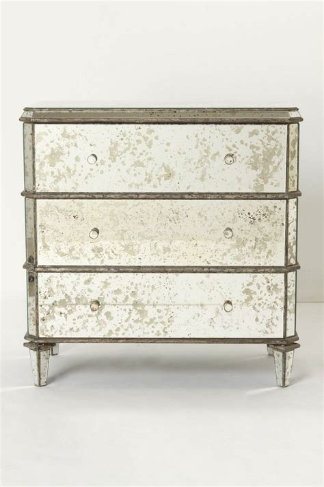 Mirror Dresser Furniture by Mirrored Dresser From Anthropologie Mirrored Furniture