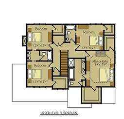2 story house plans with 4 bedrooms two story four bedroom house plan with garage