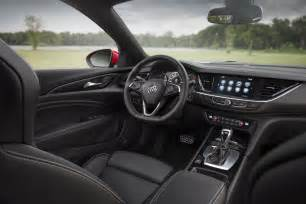 buick regal interior 2018 buick regal gs pictures gm authority
