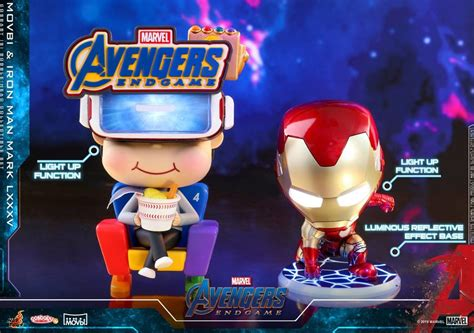 avengers endgame cosbaby bobble head figures hot toys