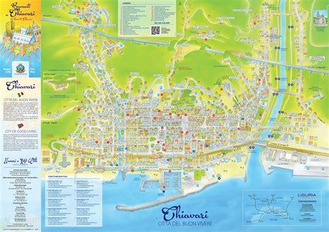 ufficio turistico sestri levante la nuova cartina turistica della citt 224 di chiavari