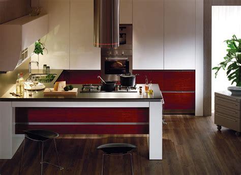 Korean Kitchen by Hanssem Kitchenbach 600 Ruby Teak Kitchen Design Digsdigs