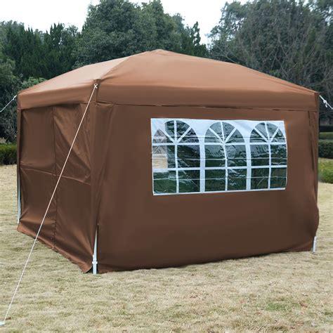 10 x 10 awning 10 x 10 ez pop up tent canopy gazebo