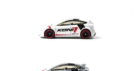 Hotwheels Ford Focus Rs Koni don t stop koni 2017 a wheels ford focus rs trio