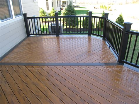 Timbertec Decking by Composite Decks Columbus Decks Porches And Patios By
