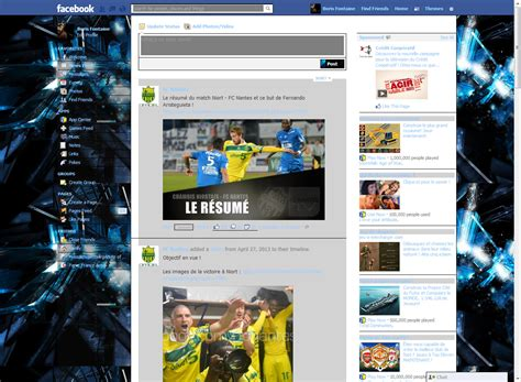 themes facebook stylish facebook themes facebook style gallery descargar