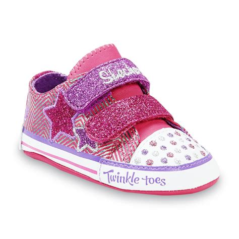 skechers baby shoes skechers baby s cosmic dreamz pink multi color shoe