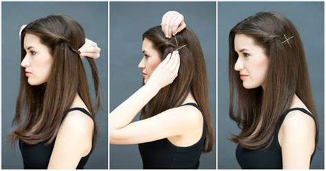 easy hairstyles for jeans eight ridiculously simple hairstyles you can do in ten seconds