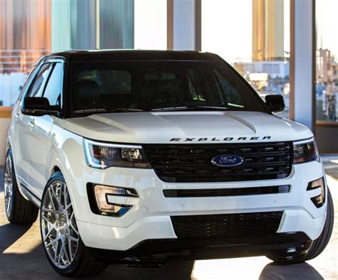 2018 ford explorer release date, redesign, spy shots