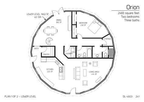 floor plan dl 4602 monolithic dome institute floor plan dl 4603 monolithic dome institute