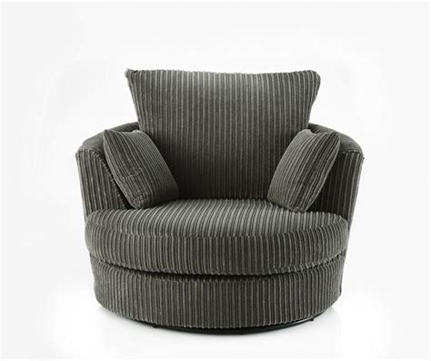 swivel cuddle chair swivel round cuddle chair fabric chenille leather round