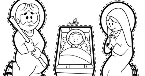 imagenes de nacimientos navideños para colorear y recortar pesebre para recortar y colorear dibujos de navidad