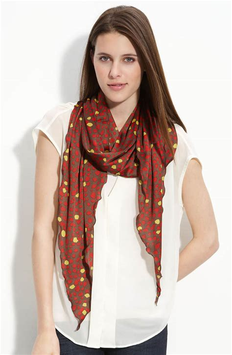 collection xiix abstract animal kite scarf accessories