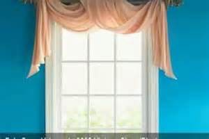 Window Scarves For Large Windows Inspiration Window Curtains On Bow Window Curtains Corner Window Curtains And