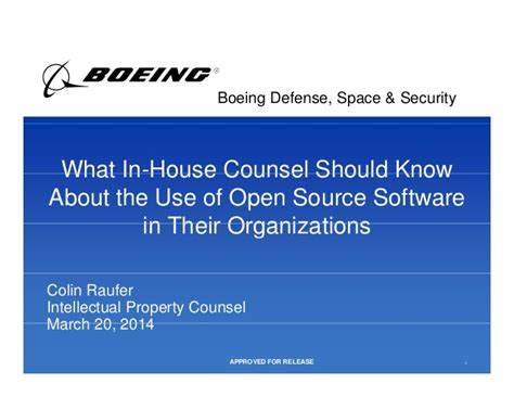 In House Counsel by What In House Counsel Should About The Use Of Open