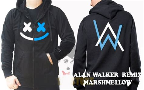 Tshirt Kaos Baju Alan Walker 6 jual jaket alan walker remix marshmello jaket sweater