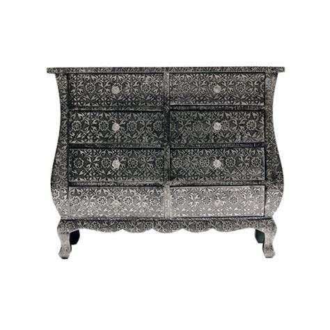 Metal Embossed Dresser by Embossed Chest Of Drawers From The Orchard Chests Of