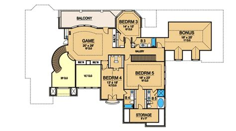 game room floor plans game room and a bonus room 36236tx 1st floor master