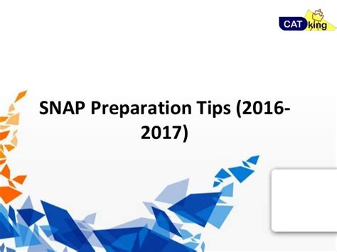 Prepare For Mba Program by Mba Snap Preparation Tips 2016 2017