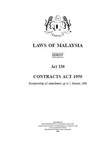 section 10 of contract act mccl has updated its malaysian laws and acts resources