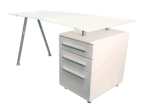 white glass computer desk cleveland 3 white glass computer desk aw23996 1