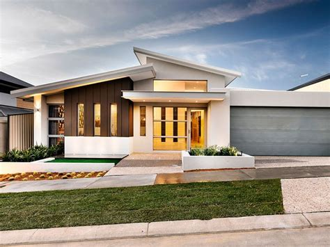 home design by single storey skillion roof search house
