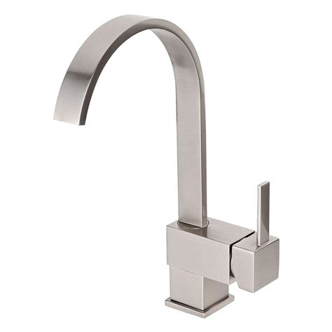 Wholesale Kitchen Faucets Kokols Single Hole Single Handle Vessel Bathroom Faucet With Swivel Spout In Brushed Nickel