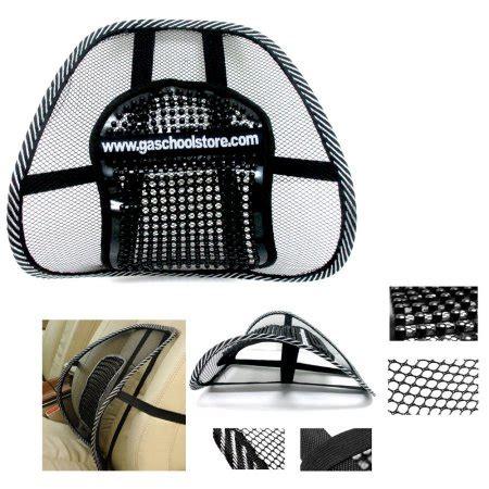 car seat mesh lumbar back brace support cushion mesh lumbar back brace support office home car seat chair